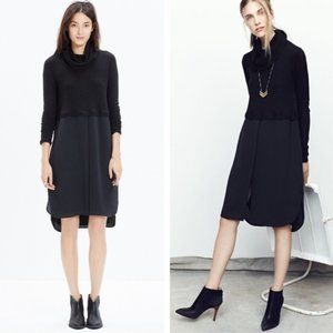 Madewell Timelapse Turtleneck Merino Wool Dress